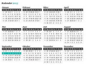 kalender mit kw kalender 2017