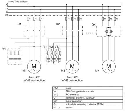 siemens motor wiring diagram siemens motor contactor wiring diagram efcaviation