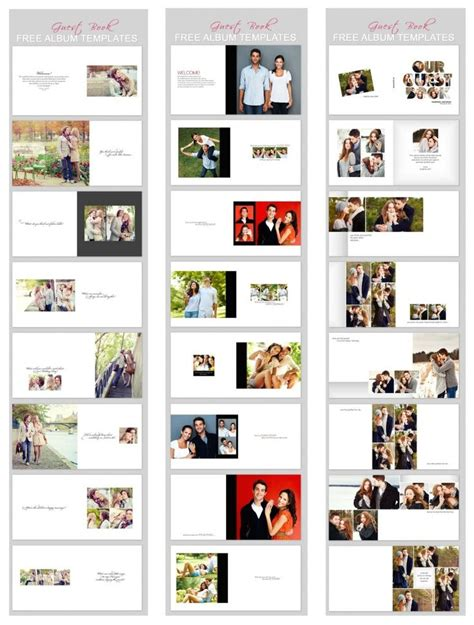 guest book layout design 17 best wedding guest books images on pinterest photo