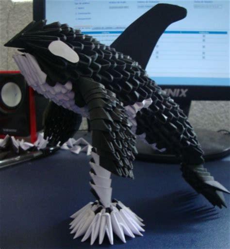 Killer Whale Origami - orca whale album shezaru mtz 3d origami