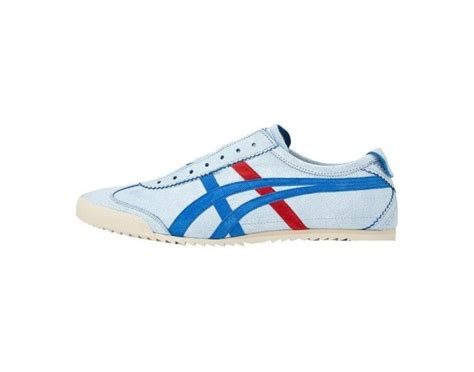 Onitsuka Tiger Mexico 66 Deluxe Navy List White onitsuka tiger mexico slip on deluxe white rabbit express