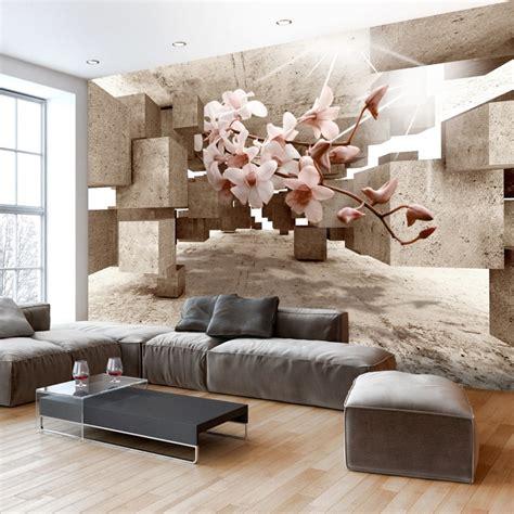 Schlafzimmer 3d Tapeten by Gem 252 Tliche Innenarchitektur Tapeten Im Wohnzimmer In