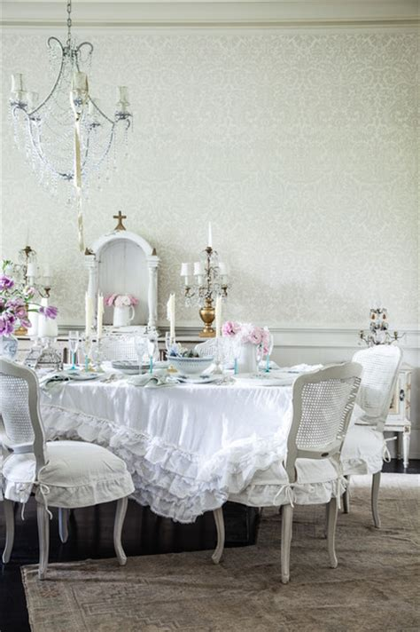 jessica simpson home shabby chic style dining room los angeles by rachel ashwell shabby