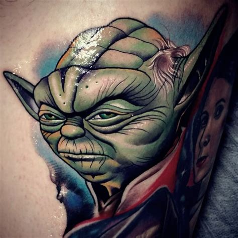yoda tattoo designs 250 most memorable wars