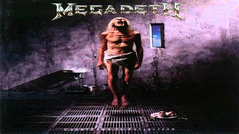 megadeth sweating bullets guitar backing track youtube