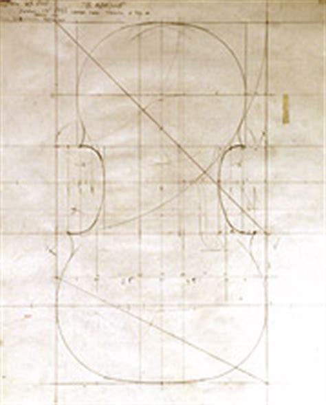 blueprint of a 19th c violin maker s plans 11 x creating an instrument thomas bertrand violins
