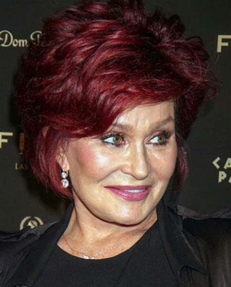 back view of osbourne haircut 17 best ideas about sharon osbourne on pinterest sharon