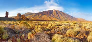 Make A Room by Tenerife S Mount Teide National Park Offers Dramatic