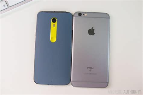 moto x style edition vs apple iphone 6s plus
