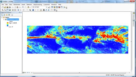 arcgis netcdf tutorial data tutorials precipitation measurement missions