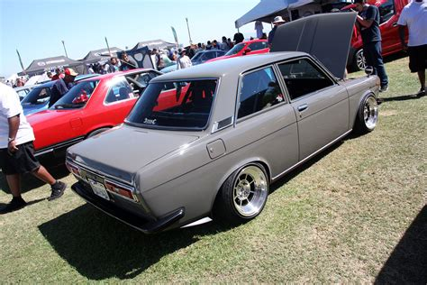 classic datsun 510 2013 japanese classic car show queen mary long beach ca