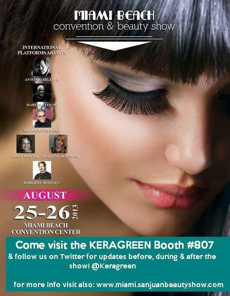 miami beauty show ibeauty show 2015 miami beach convention beauty show 2013 keragreenkeragreen