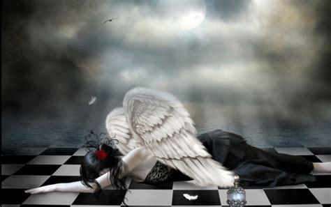 imagenes de fondo tristes dark angel tristeza fondos de pantalla dark angel