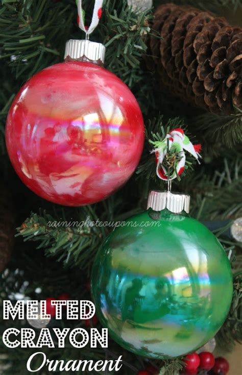 diy ornaments crayon upcycle broken crayons with these colorful diy projects