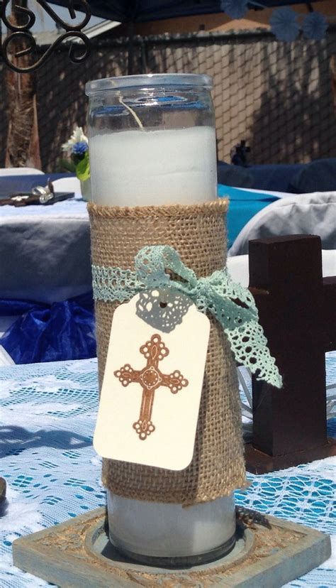 boy christening centerpieces baptism boy baptism boy decorations christening