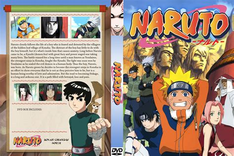 film naruto complet naruto dvd cover by moelleuh on deviantart