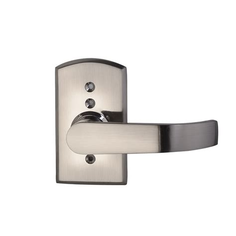 Front Door Handle With Keypad Digital Electronic Code Keyless Keypad Security Entry Door