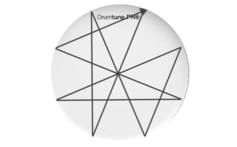 star pattern drum tuning drumtune pro drum tuning app for ios android