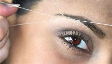 Reasons To Thread Your Eyebrows by Reasons Why You Should Start Shaping Eyebrows With Thread