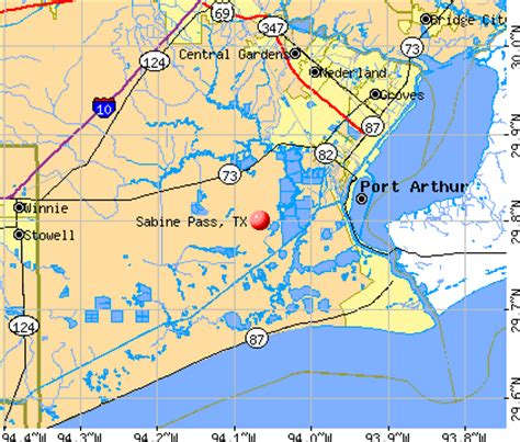 sabine county texas map sabine pass texas tx profile population maps real estate averages homes statistics
