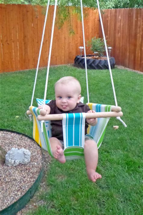 baby on swing wonderful diy hammock type baby swing