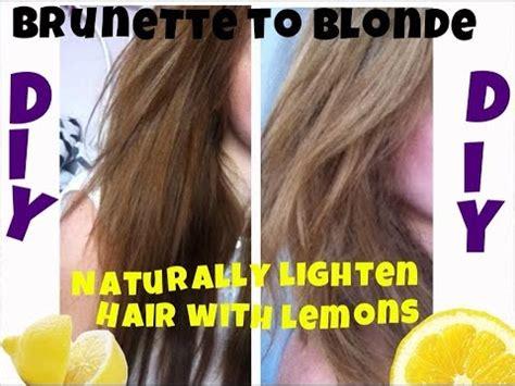 lighten you dyed black hair naturally diy naturally lighten your hair with lemons brunette to