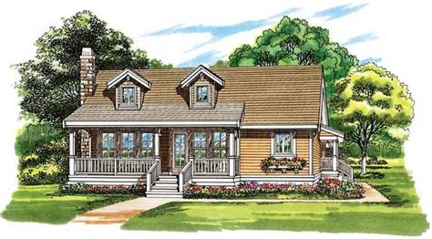 eplans chalet house plan two bedroom chalet 1486 not bad eplans country house plan farmhouse design