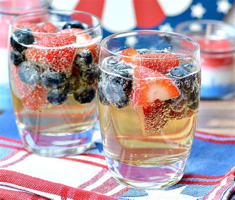 easy kids drink recipe red white and blue kid sangria