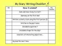 writing a diary ks1 ks2 powerpoint teaching diary