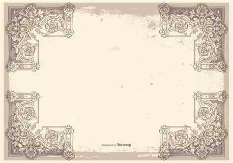 grunge frame vector stock vector illustration of drawings card 3736909 vintage grunge frame background free vector stock graphics images