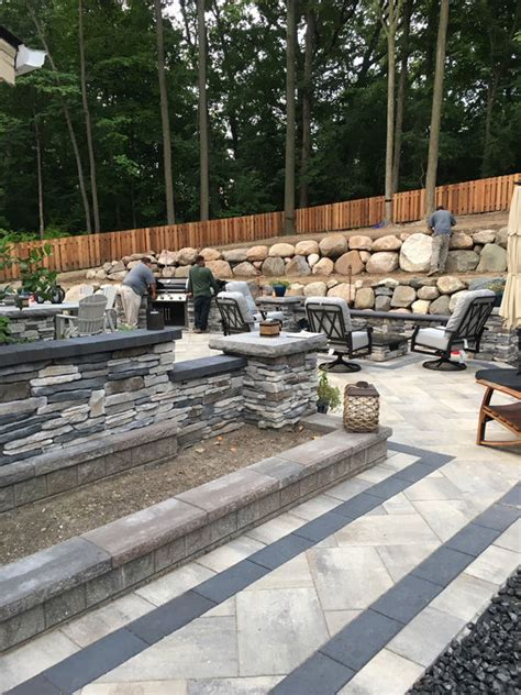 landscape contractor project  higher ground