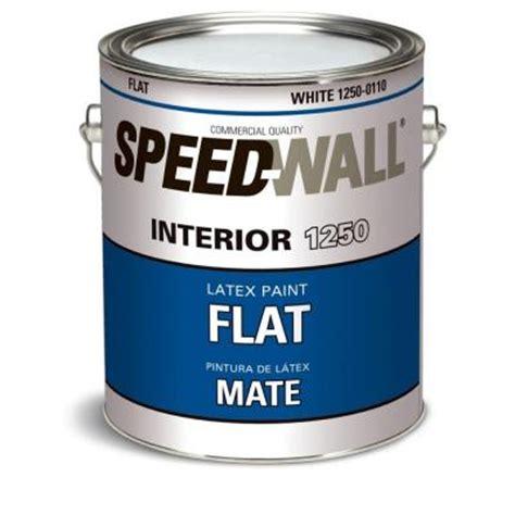 home depot paint manufacturers speedwall 1 gal flat interior ceiling paint 1250 1220v 01