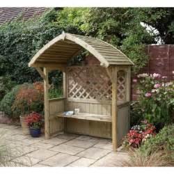 rowlinson abri pour barbecue banc en bois haut 240 cm