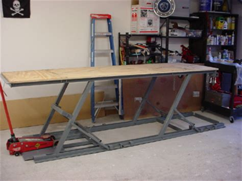 Hydraulic Motorcycle Bench by My Photo Gallery Homemade Table Bike Lift
