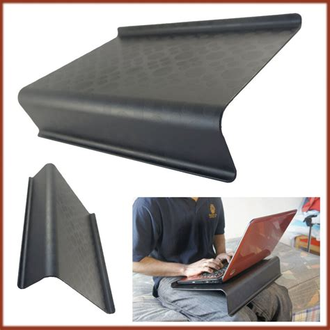 Laptop Tray For by Table Support Laptop Holder Black Slant Tray Bed Sofa