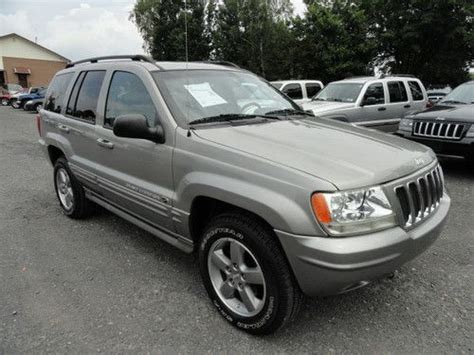 2002 jeep overland find used 2002 jeep grand overland edition like