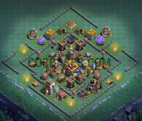 layout of coc level 7 best level 7 builder hall layout cocbases