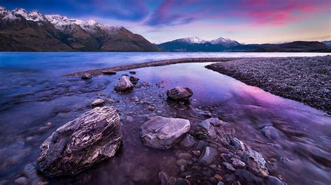lake wakatipu queenstown  zealand wallpaperscom