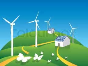 clean energy environment environmental stock vector