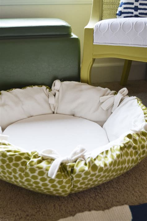 round dog beds sarah m dorsey designs diy christmas gifts round pet bed