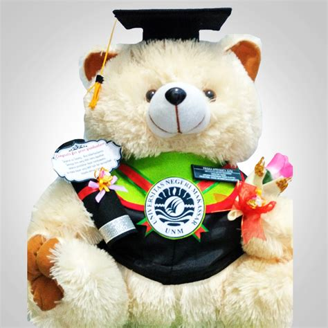 Boneka Teddybear Jojon boneka wisuda teddy 60cm elevenia