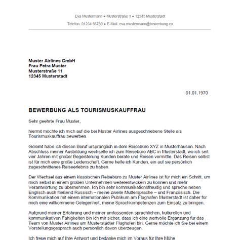 Anschreiben Ausbildung Deutsche Bahn Bewerbung Als Tourismuskauffrau Tourismuskaufmann Bewerbung Co