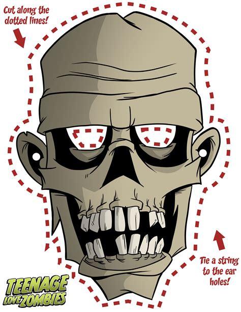 printable zombie masks pin by gaia k7 69 on maschere pinterest halloween