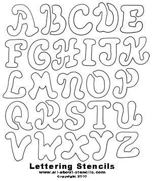 printable love fonts large font letters of alphabet free printable letter