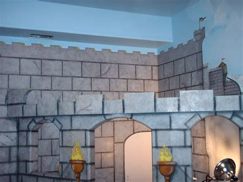 castle wall murals artwork