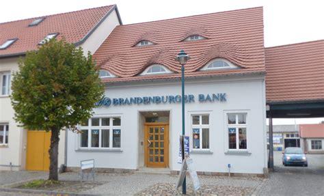 banken potsdam brandenburger bank volksbank gesch 228 ftsstelle ziesar in