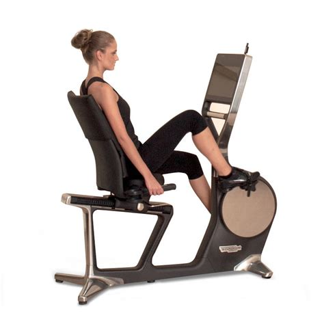 recline exercise bike technogym recline personal exercise bike at gym marine