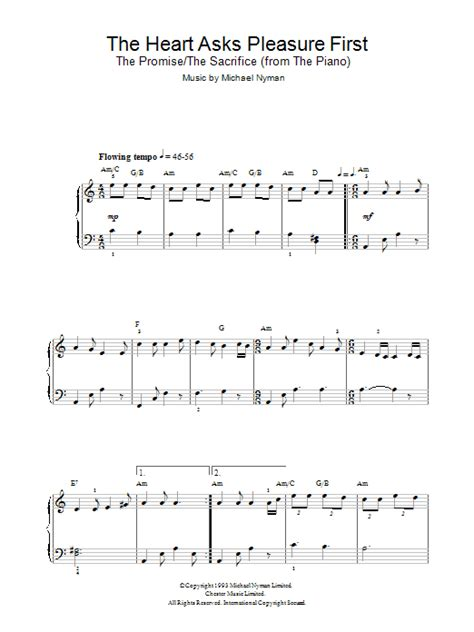 tutorial piano the heart asks pleasure first download piano vocal guitar sheet music to the heart asks