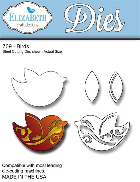 Papercraft Dies - elizabeth craft designs die birds