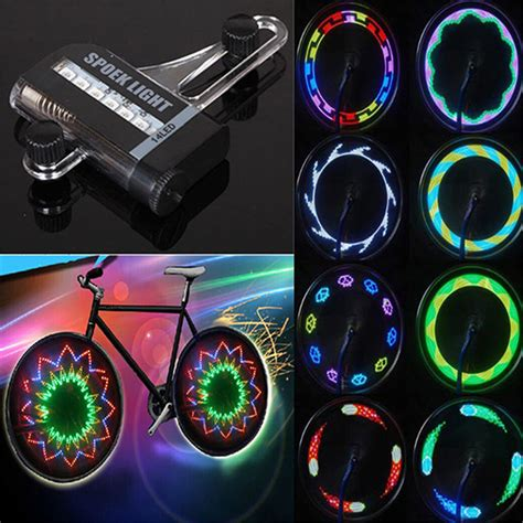 Motorcycle Wheel Lights by 14 Led Motorcycle Cycling Bicycle Bike Wheel Signal Tire